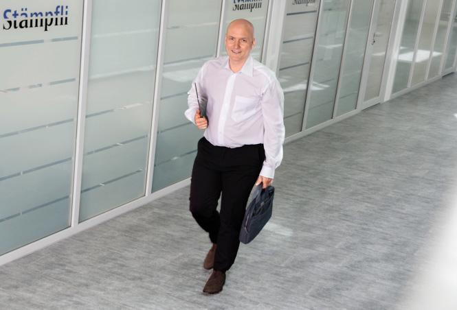 Marky Goldstein unterwegs zu Kunden