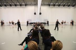 Kundenanlass in der faszinierenden Welt des Tanzes und desDesigns
