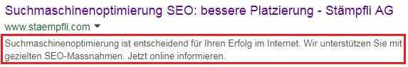 meta-description seo