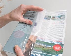 Umweltschonend produzierte Folien für IhreZeitschrift